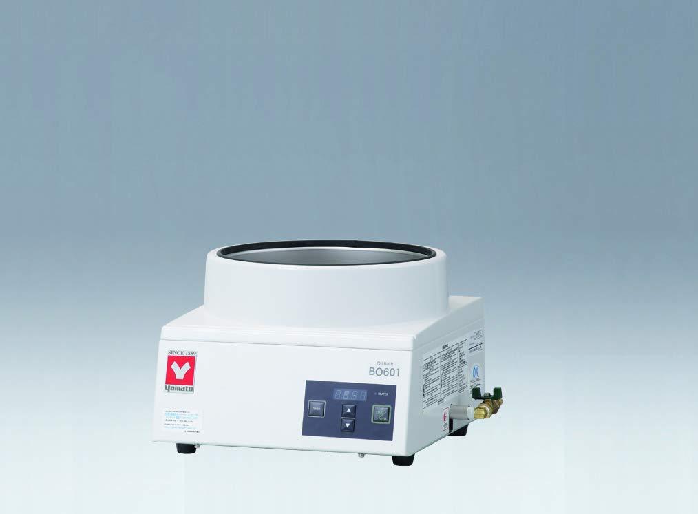 Yamato Scientific BO601 Compact Beauty products San Antonio Mall Oil Temperature Constant Design