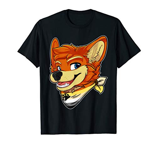 Bear Fursona Furry Fox Gay Rights Pride Week T-Shirt