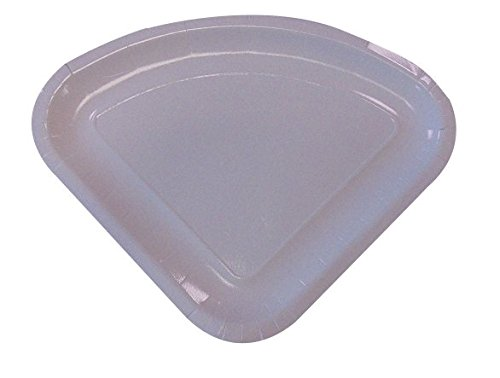Juego de 100platos triangulares de cartón para trozo de pizza, ideal para comida para llevar - Paper Cabaré