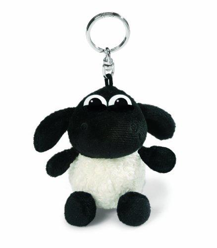NICI 35047 - Timmy das Schäfchen Schlüsselanhänger, 10 cm