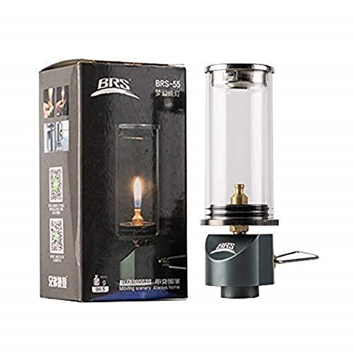 MiOYOOW lámpara de camping al aire libre, lámpara de vela Dreamlike mini lámpara colgante vela gas Burer al aire libre camping gas iluminación