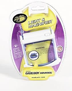MADCATZ 12310 MAD Light and Screen Magnifier - Game Boy Advance