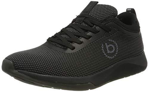 bugatti Herren 342628046900 Sneaker, Schwarz, 43 EU