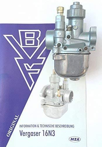 Vergaser BVF 16N3-2 für Roller SR50 (HD70)