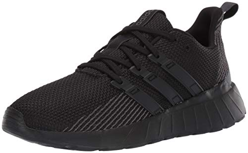 adidas mens Questar Flow Sneaker, Black/Black/Grey, 9 US