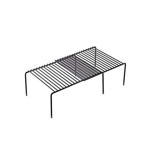 JYDQM Ajustable escurridor, la Cocina for Guardar la Caja de Almacenamiento en Rack de Cocina Plato de Secado en Rack Rack de Almacenamiento de Hierro