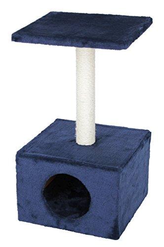 Kerbl Kratzbaum AMETHYST dunkelblau, Höhe: 57 cm