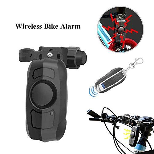 Heylas Fietsalarm, draadloze diefstalbeveiliging, vibratie, waterdicht, veiligheid, fietsen, alarm met afstandsbediening