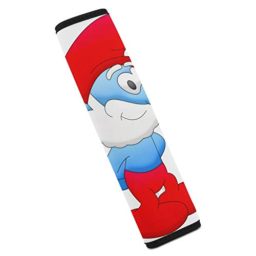 Brainy Smurfette Car Seat Belt Pads Cover Soft Seat Belt Shoulder Pad for a More Comfortable Driving Compatible with All Cars
