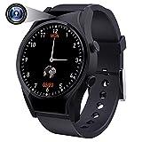 Cámara Espía Oculta Smartwatch Impermeable IPX6, Spy Camera 1,3