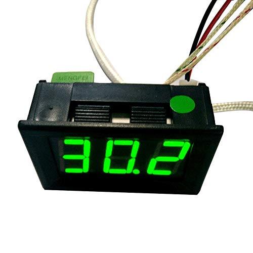 DEtrade LED DC12V Thermoelement K Typ -30~800 ℃ Digitales Hochtemperatur-Thermometer (C)