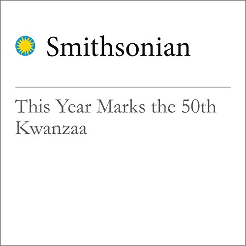 This Year Marks the 50th Kwanzaa audiobook cover art