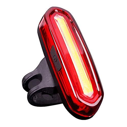 Luz Trasera Bicicleta Recargable Usb, Luz Bicicleta Impermeable Ip64 Con 4 Modos, Piloto Trasero Rojo Bici Potente Led Impermeable,faro Trasero Bici Para Máxima Seguridad De Ciclismo Red light