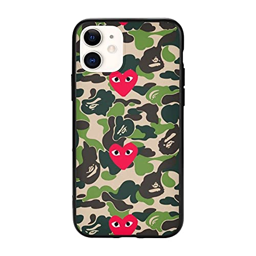 Full Body Protective Phone 11 Case Cover,Bathing Ape Personalized Mobile Phone Case iPhone 11-6.1