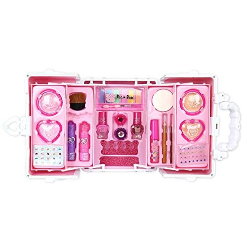 Children's Cosmetics Girls Play House Toys Make-up Starlight Party Princess Professional Suitcase