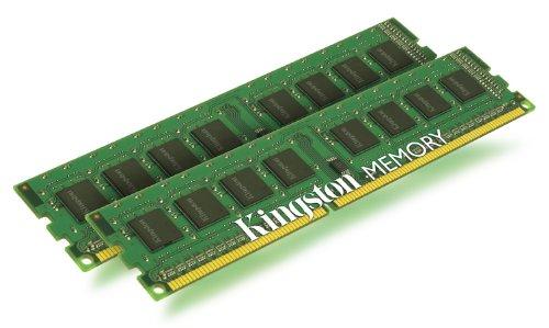 Kingston ValueRAM KVR1333D3N9/2G PC3-1333 Arbeitspeicher 4GB (Non-ECC, 1333 MHz, CL9, 240-polig, 2 x 2GB) DDR3-SDRAM Kit
