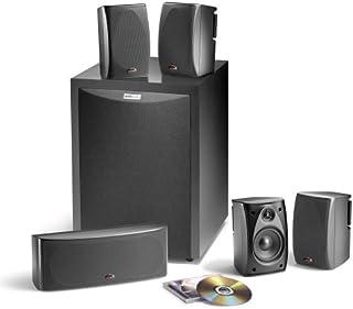 Polk Audio RM6750 5.1 Channel Home Theater Speaker System (Set of Six, Black)