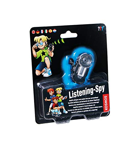 KOSMOS 665241 - Die drei ??? Hörspion, mehrsprachige Version (DE, EN, FR, IT, ES, NL) Spielzeug, Detektiv-Ausstattung für Kinder, Experimentier Set