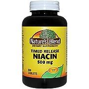 Niacin Timed Release 500 mg 500 mg 300 Tabs