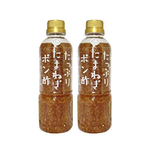徳島産業 たっぷりたまねぎポン酢 ボトル400ml
