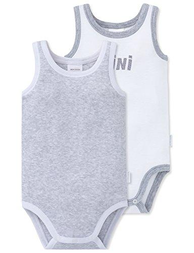 Schiesser Unisex Baby Funktionsunterwäsche 2pack Bodies 0/0, 2er Pack, Mehrfarbig (Sortiert 1 901), 080