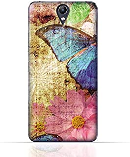 Lenovo Vibe S1 Lite TPU Silicone Case with Vintage Butterfly Pattern