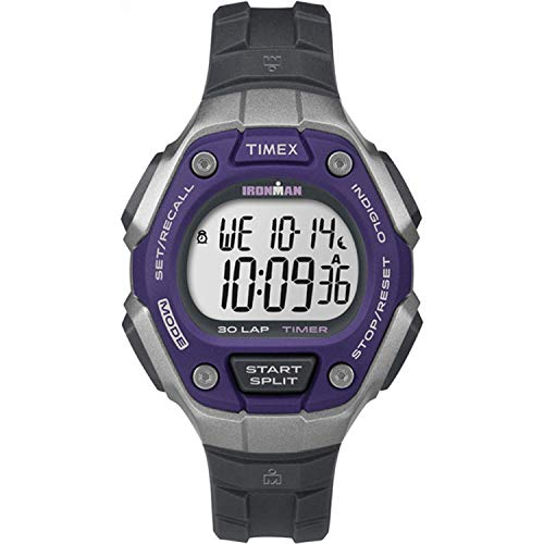 Timex Reloj Digital para Mujer de Cuarzo con Correa en plástico TW5K89500