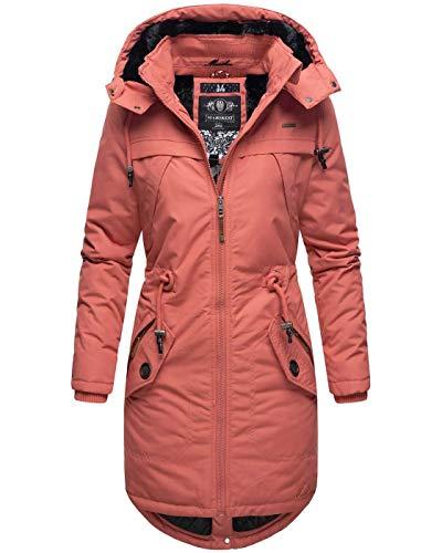 Marikoo dames winter jas parka mantel winterjas warm gevoerde capuchon B807