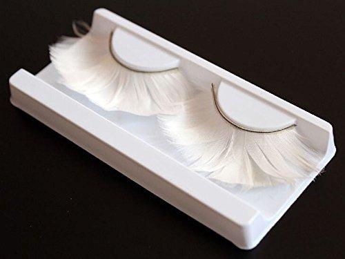 5 paires créative faux cils / extension de cils / mode cils, blanc