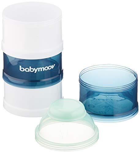 Babymoov Milchpulver-Portionierer, arctic blue, 4 Fächer