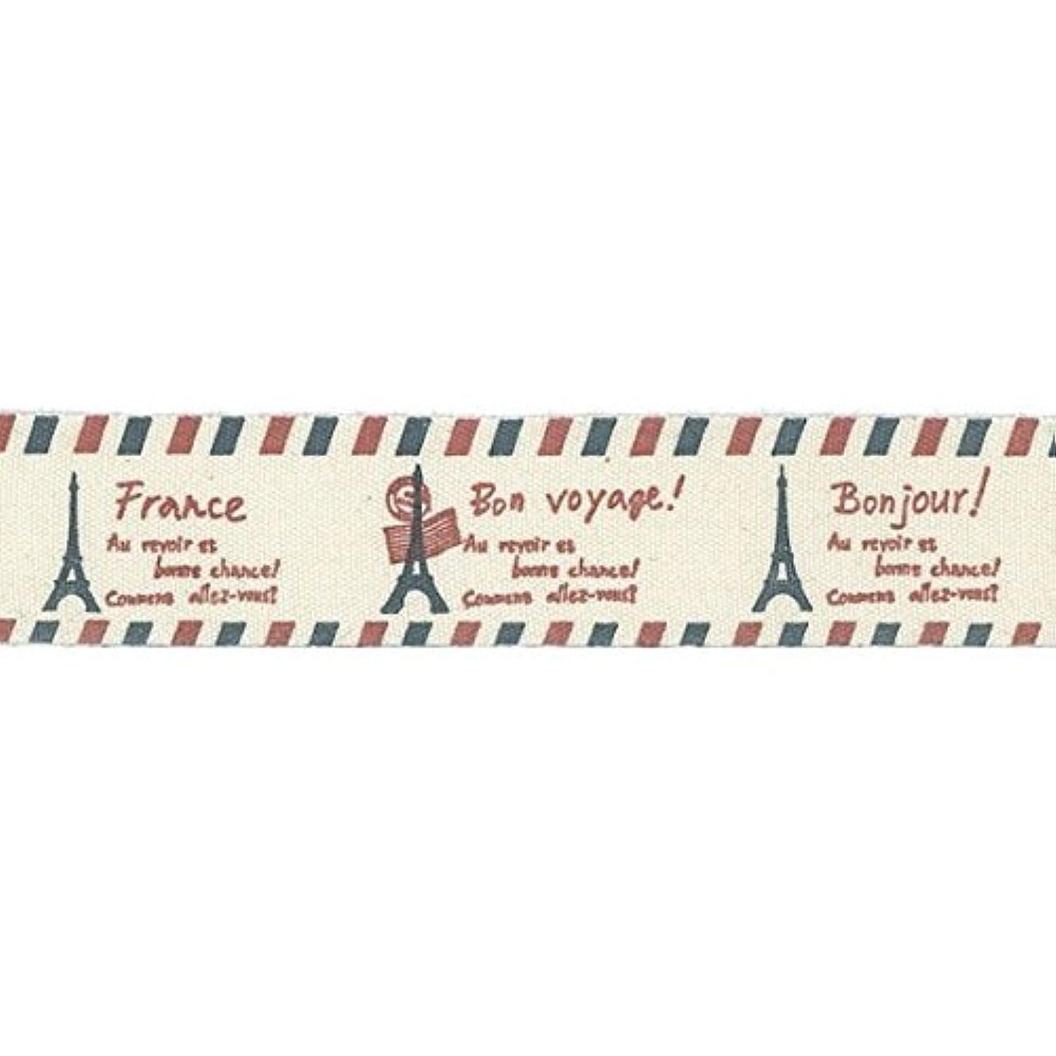 Vaessen Creative Printed Ribbon, Fabric, Multicolored, One Size