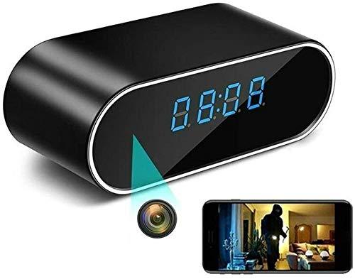 Actualizado cámara espía oculta reloj inalámbrico WiFi cámaras ocultas HD 1080 p niñera Cam para el hogar Monitor de seguridad grabadora de vídeo visión nocturna detección de movimiento
