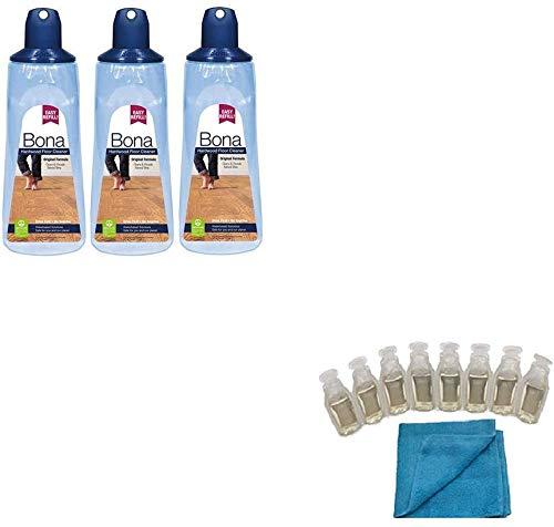 Bona Hardwood Floor Cleaner Refillable Cartridge 3PK Cleaning Kit
