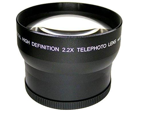 Sony FDR-AX100用ハイグレード2.2倍望遠変換レンズ(62mm)