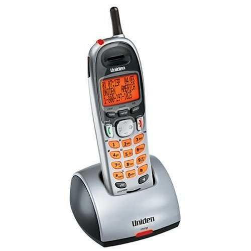 Uniden DCX750 2.4 GHz Digital Accessory Handset and Charger for DCT75 Series