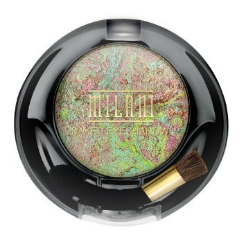 Milani Runway Baked Eyeshadow, 618 green fortune 0.05 oz/ 1.5g (2 Pack)