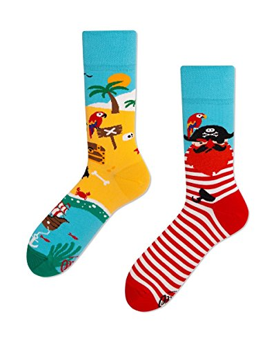 Many Mornings unisex Socken Pirate Islands (43/46)