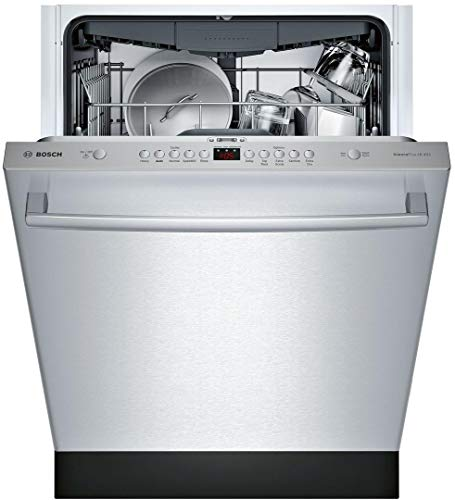 Bosch SHX84AYD5N 100 Series 24 Inch Built In Fully Integrated Dishwasher with 5 Wash Cycles in Stainless Steel