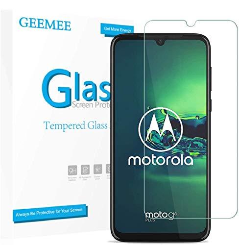 GEEMEE (2 Pezzi Pellicola Vetro Temperato per Motorola Moto G8 Plus, Durezza 9H Protezione Schermo, Anti Graffi HD Trasparenza Protettiva Screen Protector Film (Transparente)