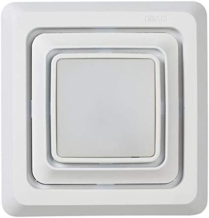 Broan NuTone Broan FG600S LED Lighted Grille Upgrade for Bathroom Ventilation Fans Easy Installation product image