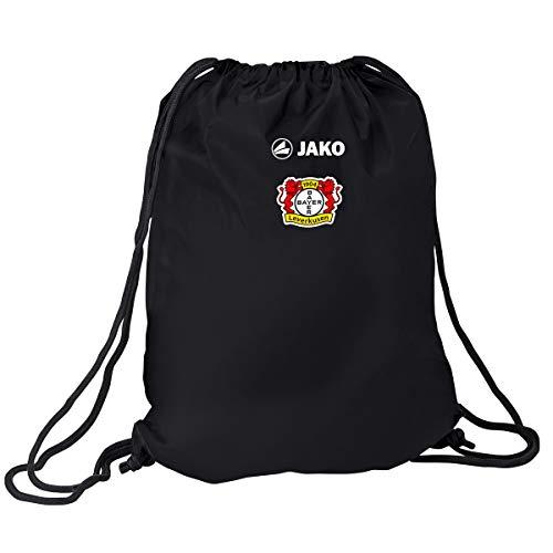 JAKO Team Bayer 04 Leverkusen Gymsack, schwarz, 0 (one Size)