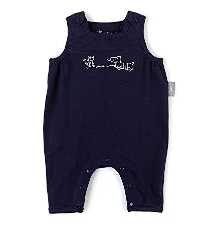 Sigikid Baby-Jungen, New Born Latzhose, Blau (Peacoat 260), 68