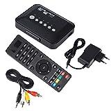 Surebuy Unidad USB 1080P Media Player Audio Video Player Interfaz HDMI1.3 Digital(European regulations)