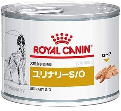 [食事療法食]ロイヤルカナン ベテリナリーダイエット 犬用 ユリナリーS/O ウェット 缶 200g×12缶