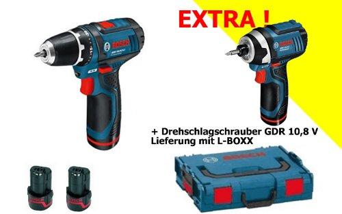 BOSCH GSR 10.8 GDR 10.8 - Kit atornillador taladrador