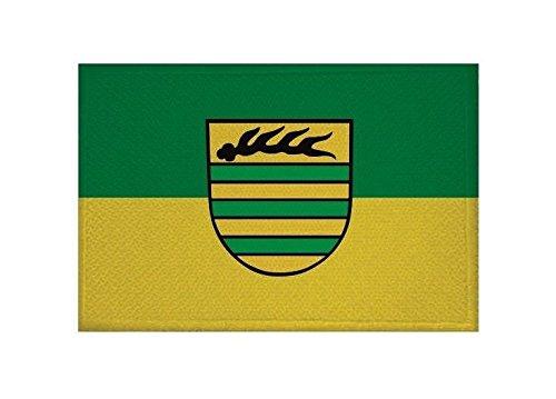 U24 Aufnäher Aichtal Fahne Flagge Aufbügler Patch 9 x 6 cm