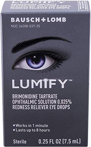 Lumify Redness Reliever Eye Drops 0.25 Ounce (Value Pack of 5)