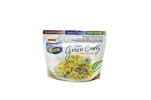 Mama - Handi Rice, grünes Curry mit Fischfleisch - 80g