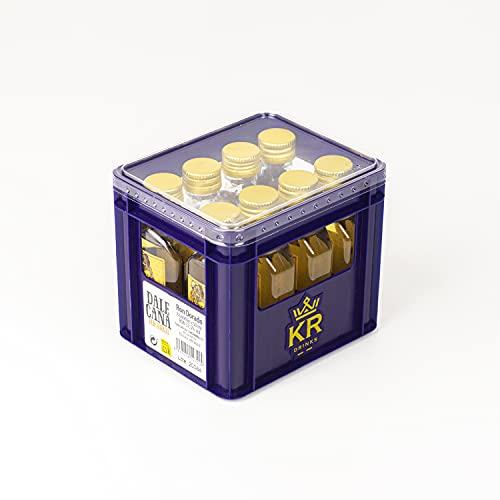 Dale Caña Ron Dorado Dale Caña | Mini Cajón 50ml x 8ud | 30°%Vol | Ideal para hacer memorable cualquier combinado o cocktail | botellas de licor miniatura | mini botellas alcohol - 400 ml