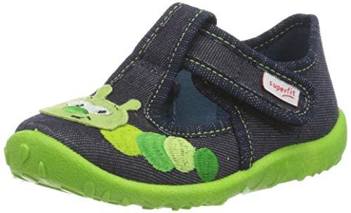 superfit Spotty, Zapatillas de Estar por casa para Niños, Azul (Blau 80), 22 EU